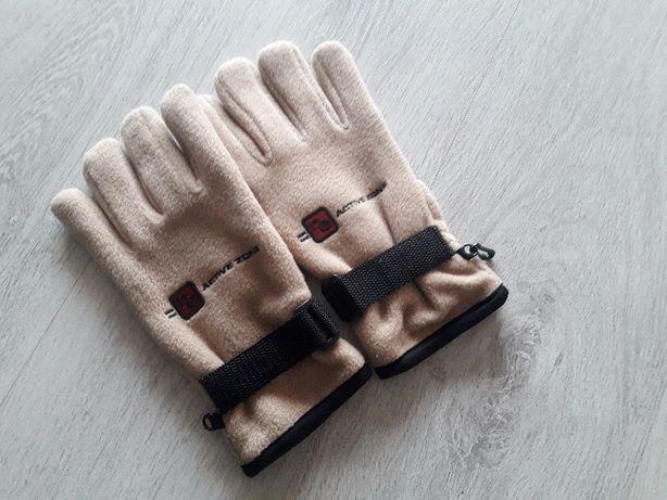 Rękawiczki polarowe.