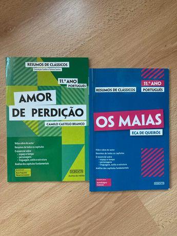 livros de português obras 11ºano