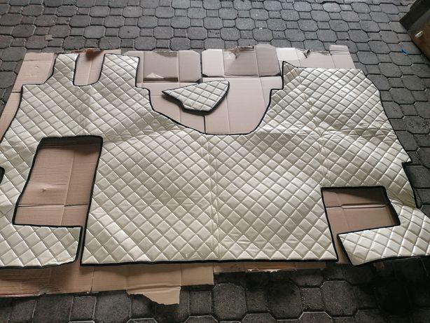 mercedes actros dywaniki pikowane , pokrowce, komplet