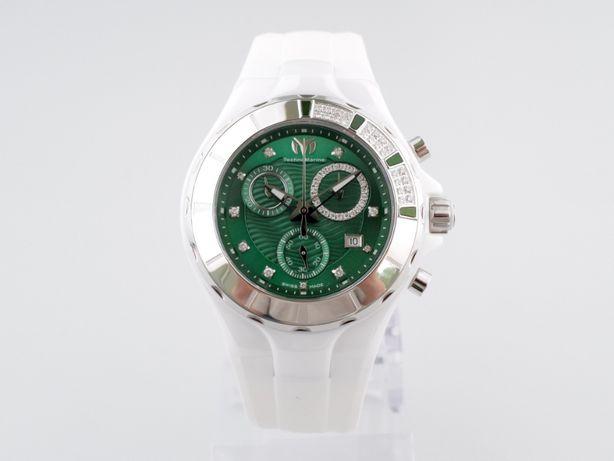 Женские новые часы TechnoMarine Cruise Chronograph Green 40 мм