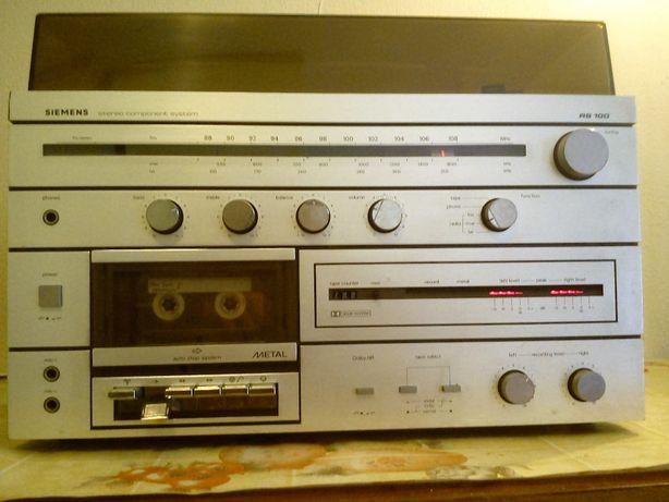 radio z gramofonem i na kasety