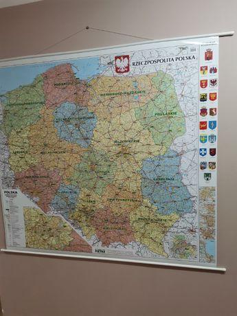 Mapa Polski skala 1:500 000