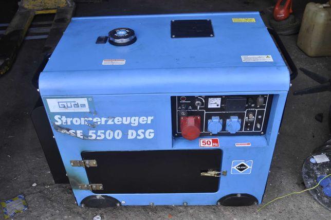 agregat prądotwórczy diesel gude gse 5500dsg