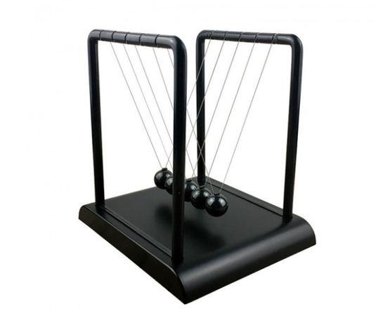 Шары Ньютона Magic Ball настольные черные, Маятник Шары Ньютона