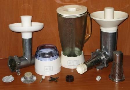 Детали, Запчасти, Насадки для кухонного комбайна Мрия2 и Мрия 2м.