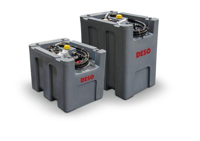 Zbiornik mobilny na olej napędowy DESO 300l 400l 900l 1000l paliwo