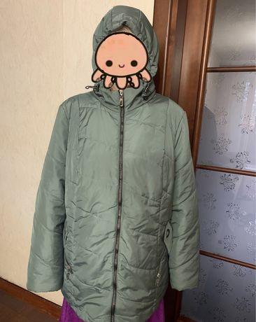 Куртка деми осень/весна 62 размер новая