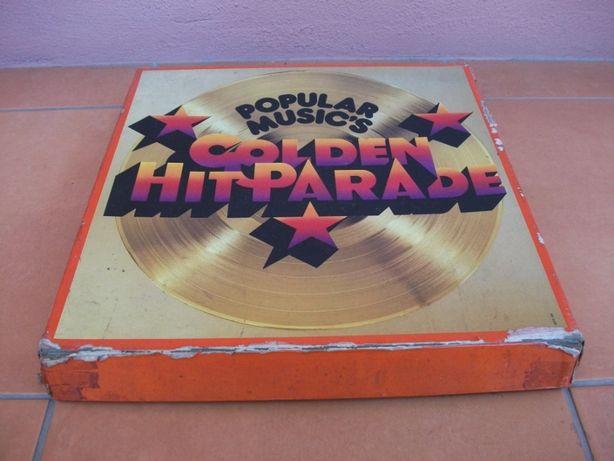 "Colectânea vinil ""Golden Hit Parade"" + ""Hair"""