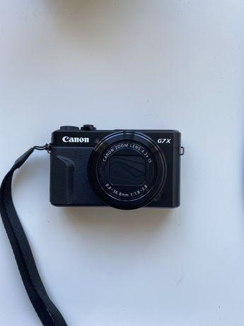 Máquina Canon G7x mark II