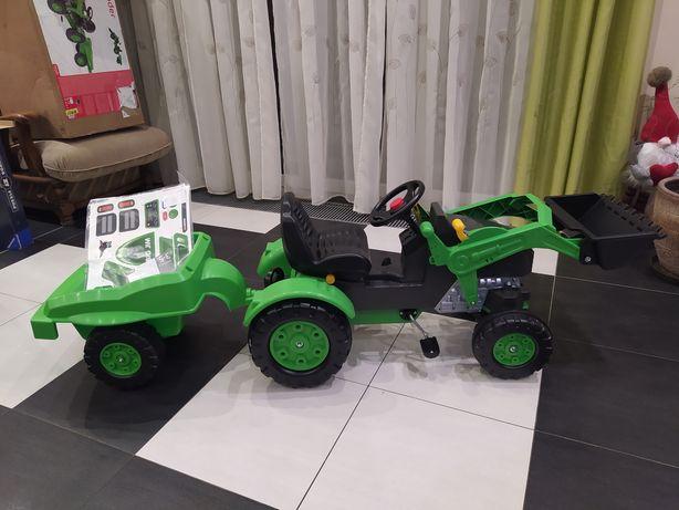 Traktor na pedały Jim - Loader