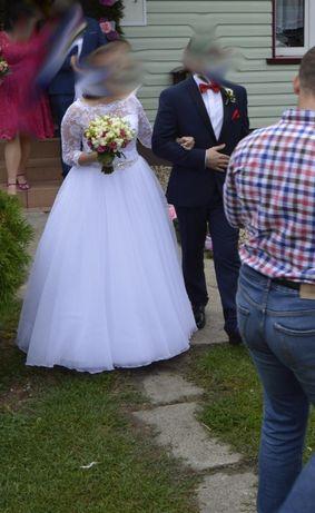 Przepiekna Suknia ślubna wzór księżniczki ! Super Stan ! Wartoo !