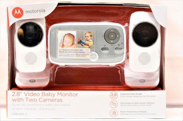 MOTOROLA MBP483-2 CYFROWA NIANIA elektroniczna 2x kamera z USA Nowa