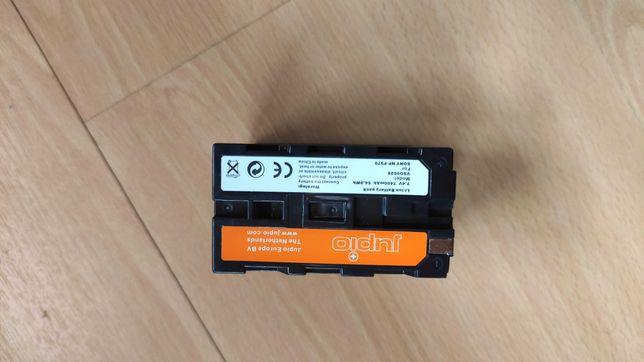 Bateria Sony NPF970 capacidade 7400mAh (encaixe das NP-F550)