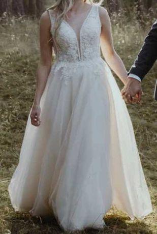 Sprzedam nietuzinkową suknię ślubną !