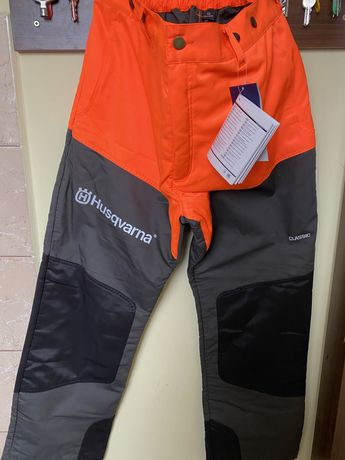 Spodnie ochronne Husqvarna Classic NOWE