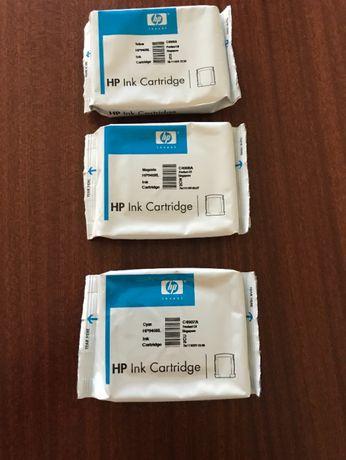 Tinteiros HP, HP940 XL, novos, yellow, magenta e cyano