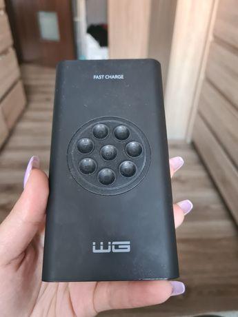 Powerbank WG 8000mAh Qi Czarny 7114
