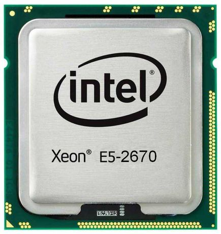 Процессор Xeon E5-2670 8 ядер, 16 поток 20Мб кеш LGA2011