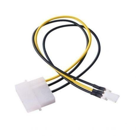 Переходник молекс 4 pin на 3 pin кулер molex 20 см.
