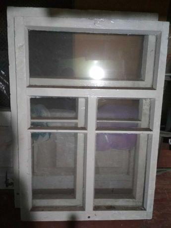 Рама деревянная оконная, окно
