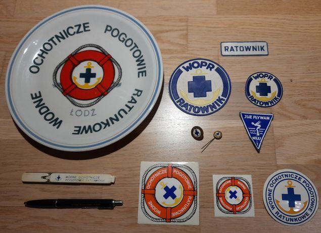 WOPR - pamiątki,  naszywki, naklejki, znaczki