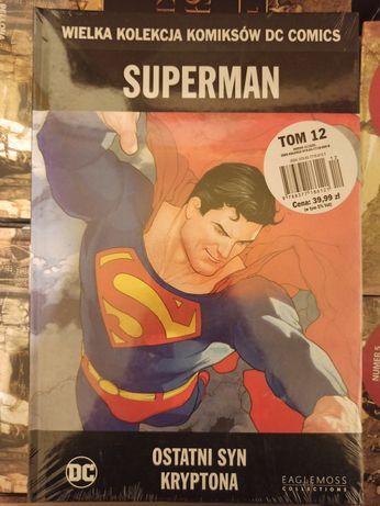 DC comiks ostatni syn kryptona komiks hurt paleta