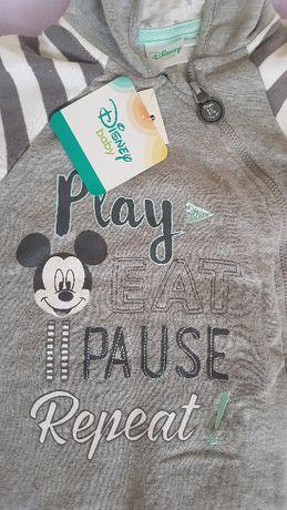 Nowy pajac polar r80 Miki Disney Baby