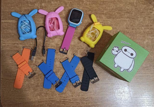 Дитячий розумний смарт годинник Smart Baby watch Q90 з GPS