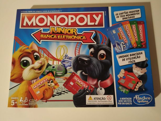 Monopoly Junior Banca Eletrónica ou O meu 1º Monopoly