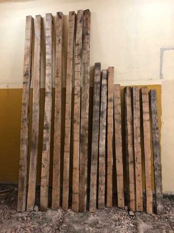 Krokwie  z  rozbiórki  3,5 m ,  2 m  10x 10 cm