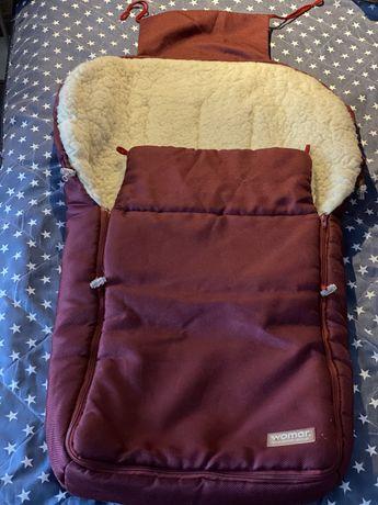 Детский конверт на овчине Womar 390 грн.
