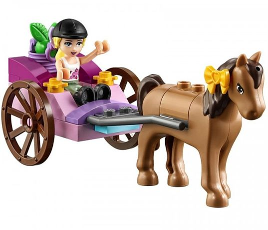 Конструктор LEGO Juniors Лошадь и карета Стефани