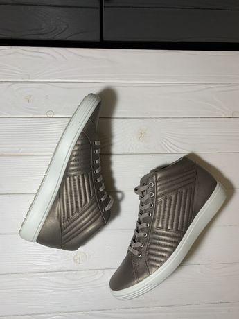 Женские осенние ботинки ecco р 41