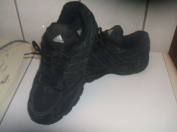 buty męskie skórzane adidas 41 czarne