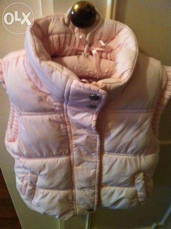 Kispo /Colete rosa Zara T 2-3 anos