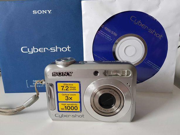 Máquina fotográfica Sony Cyber Shot DSC S650