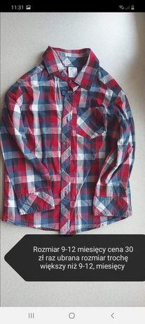 Koszula H&M  rozm.2-3 wedl mnie