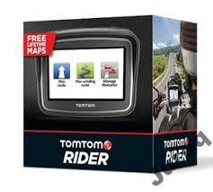 TOMTOM RIDER, Tom Tom Rider, nawigacja motocyklowa, MAPA POLSKI EUROPY