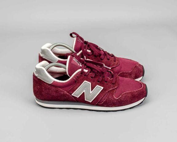 Фирменные замшевые кроссовки в сетку New Balance 373.43 размер