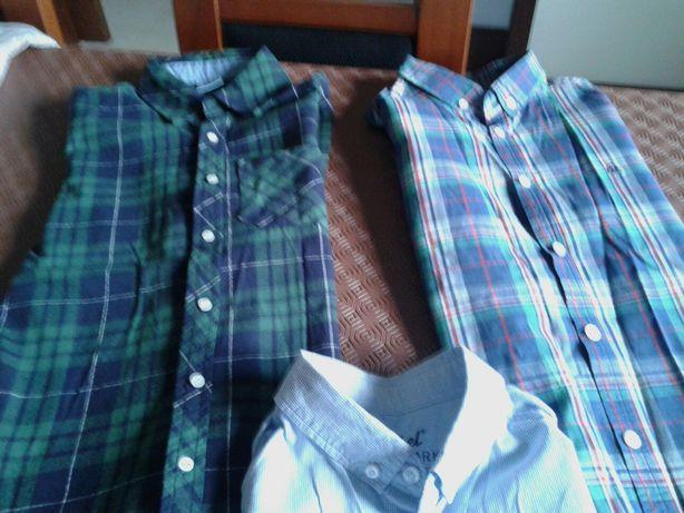 3 camisas