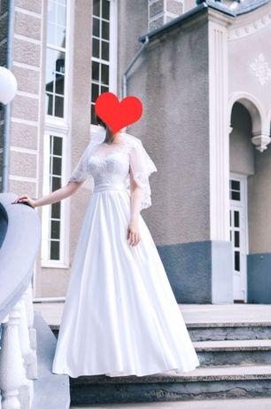 Невенчанное дизайнерское свадебное платье
