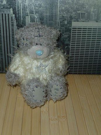 Новогодний мишка Тедди в свитере со звездочкой