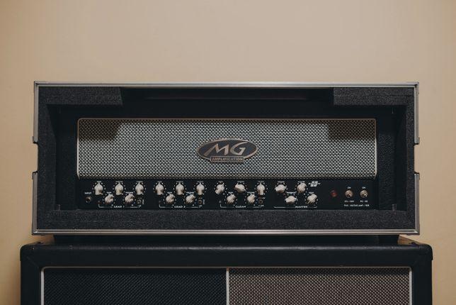 Wzmacniacz gitarowy MG RAVEN II 100W + flightcase (nowe lampy Sovtek)