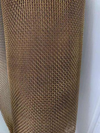 сетка латунная тканная в рулоне