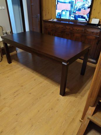 Stół rozkładany masywny