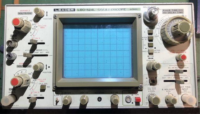 Osciloscopio Leader LBO524