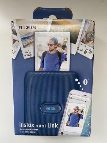 Продам Фотопринтер Fujifilm INSTAX Mini Link Dark Denim