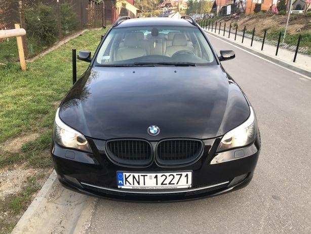 BMW 520D E61 Touring LCI 177KM Skóra Bi-Xenon