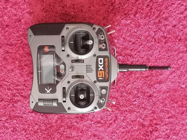 Rádio transmissor Spektrum dx6i