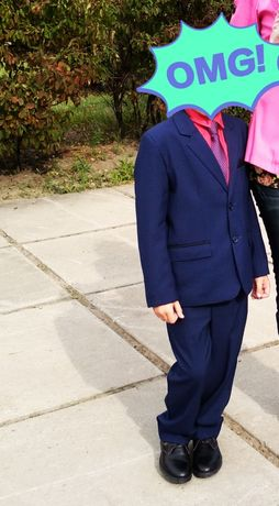 Школьная форма (пиджак брюки рубашка туфли галстук) 36р 134см 140см